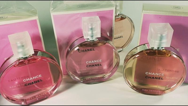 Как отличить парфюм оригинал от подделки. Chanel chance eau tendre Шанель шанс о тэндр