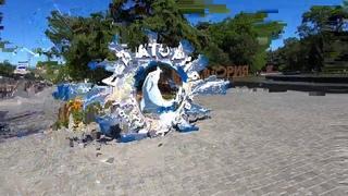 Крым места которые стоит посетить - Евпатория парк им. Фрунзе и Греческий храм.