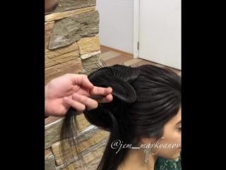 Причёска для изысканных девушек