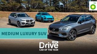 2020 Best Medium Luxury SUV: Volvo XC60, BMW X3, Porsche Macan   2020 Drive Car of the Year