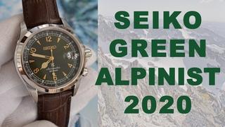 Обзор Seiko Зеленый Альпинист / Модель 2020 года