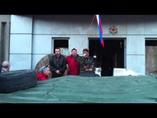 Крымчане приехали поддержать Луганск