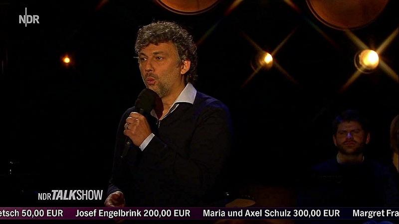 Jonas Kaufmann ⭐ Zu Gast in der NDR Talk Show