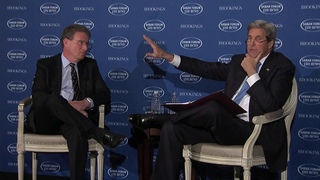 Secretary Kerry in a Conversation at the 2016 Saban Forum