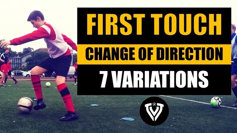 First Touch Football Drills U9 U10 U11 U12 U13 U14 Thoma Vlaminck