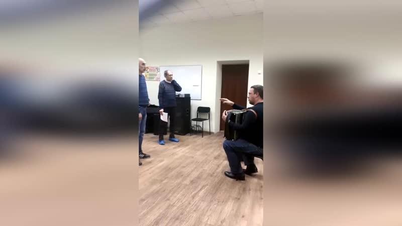 Душа атамана Репетиция