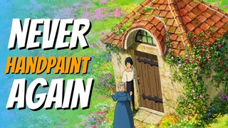 Ghibli-Style Textures in 3D