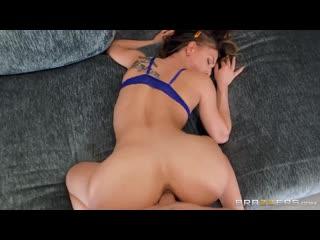 Aidra Fox - Aidra Gets Her Fill (Blowjob, Brunette, Natural Tits
