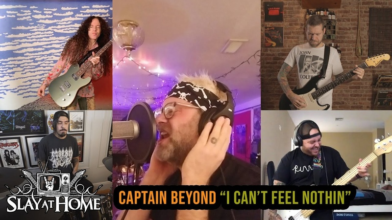 MARTY FRIEDMAN REVOCATION RED FANG SUICIDAL TENDENCIES Cover Captain Beyond Metal Injection