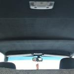Жесткий потолок на Ниву 2121, 21213, 21214  (с травмозащитой и под два плафона)