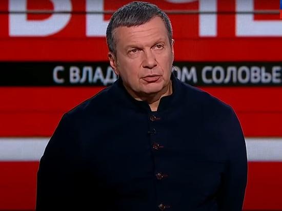 Соловьев отказался извиняться за игровое видео под видом войны в Карабахе
