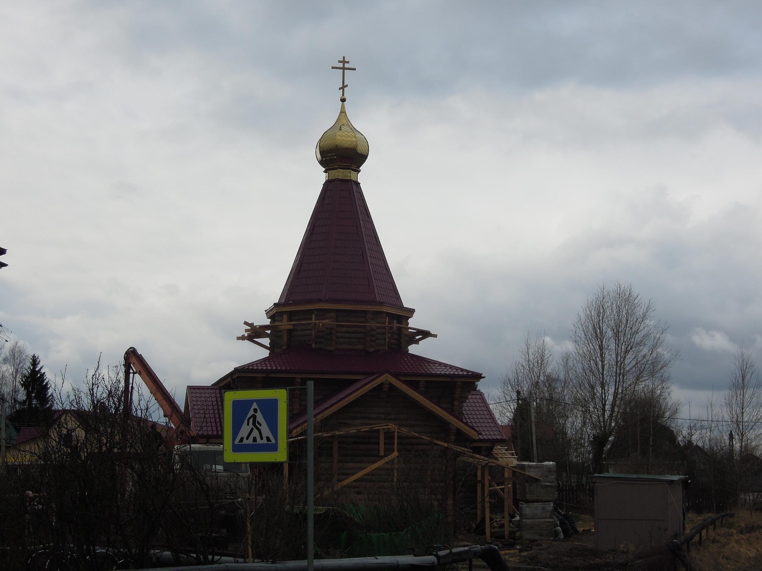 Крест вознесся над Кобралово