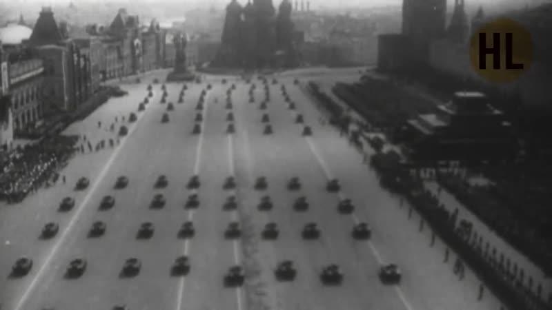 1 мая 1936 года Военный парад и демонстрация в Москве History Lab Хроника HD