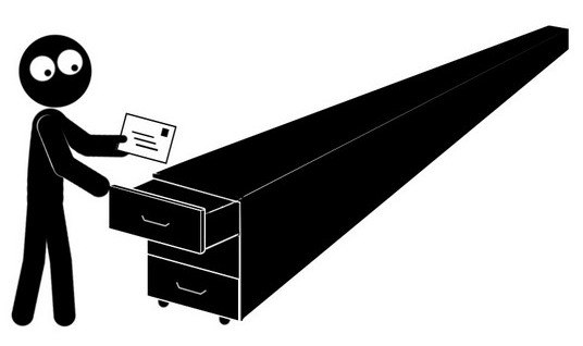 История выражения «отложить в долгий ящик».