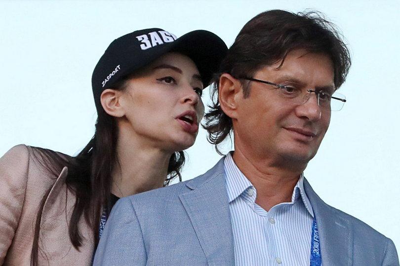Леонид Федун и Зарема Салихова