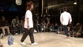 1/2 finale HOUSE : FRANKIE J (GBR) vs SANTA (JPN)