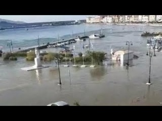 Tsunami hits Greek island of Samos after 7.0 magnitude Earthquake