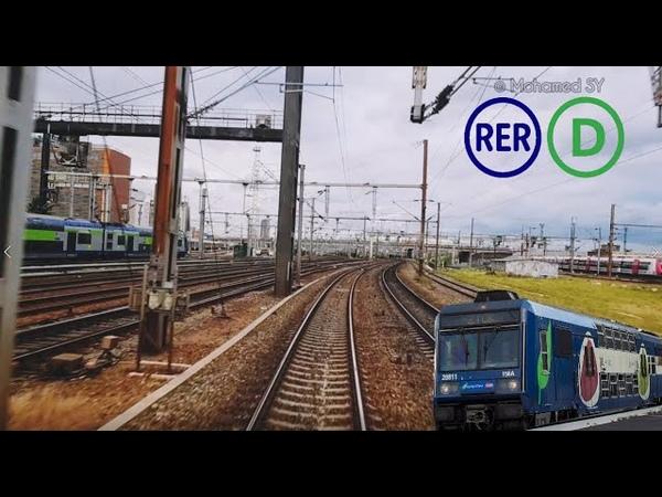 Cab Ride RER D De Paris Nord à Goussainville en Z 20500