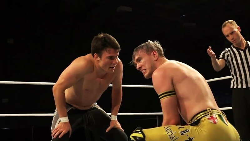Will Ospreay vs Mike Bailey Pro Wrestling World Cup Quarter Finals