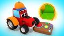 Маленький Трактор и Волшебный Портал / Мультик про Трактор для Детей