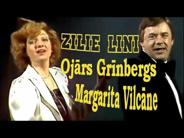 Zilie lini 1970s Margarita Vilcāne Ojārs Grinbergs Ka linu druva saka ziedet 1995