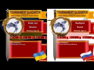 Heroes 3. sod. saneok vs ev. 1/64 final. arena fba. турнир гладиатор!