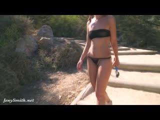 see through black bikini on beach walking ass tease pussy candid в прозрачном черном купальнике разгуливает по пляжу