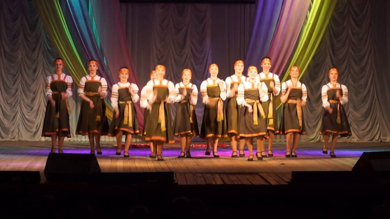 Коми пермяцкий танец Ленок средняя группа