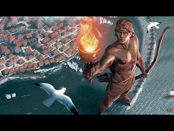 Колосс Родосский уникальное творение скульпторов ставшее воплощением бога Гелиоса