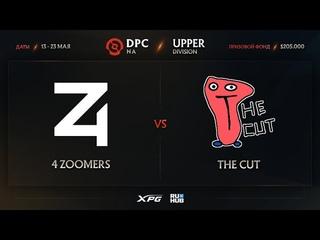 4 Zoomers vs The Cut, Dota Pro Circuit 2021 NA S2, bo3, game 2 [Adekvat & Lost]