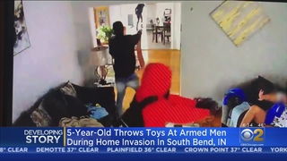 5-Year-Old Boy Throws Toys To Protect Mom During South Bend Home Invasion