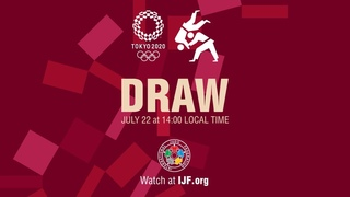 Draw Judo - Olympic Games Tokyo 2020