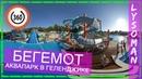 360° Геленджик аквапарк БЕГЕМОТ (видео 360 градусов) Аттракционы водные горки отдых Аквапарки России