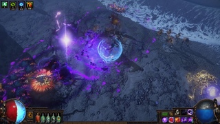 Preview of the new effect from the Duskblight unique boots