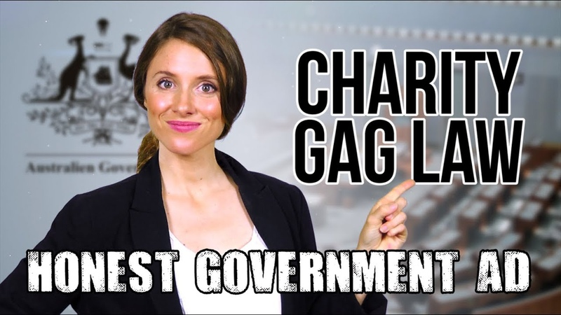 Honest Government Ad Charity Gag Law