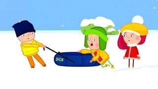 Смарта и Чудо-сумка - Все серии -  Зимние развлечения - Сборник развивающих мультиков