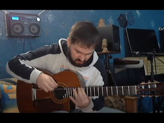 🔴 Музыка. Будяк и Его Космическая Гитара в Студии Звукозаписи Дмитрия Кружковского