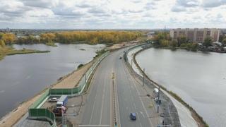 """Строительство новой дороги - мостовой переход """"Фрунзенский"""""""