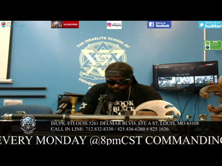 ISUPK ST. LOUIS CLASS TOPIC:  SEPERATION FROM AMERICA WILL SAVE BLACKS, HISPANICS, AND NATIVE AMERICANS