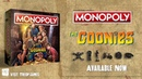 MONOPOLY The Goonies The Op Board Game Showcase