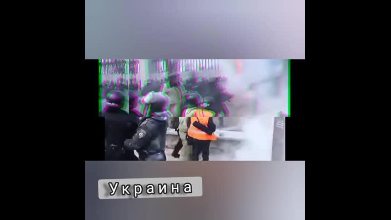 Сравнение митингов в России и Украине