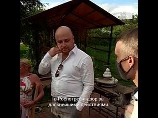 Анастасия Волочкова тайно проникла в карантинное Дивеево