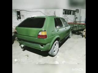 Жашыл Volkswagen Golf