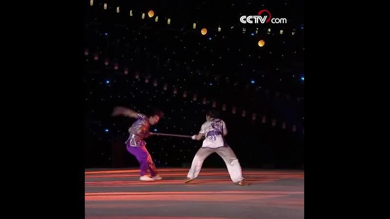 Дух ушу в исполнении чемпионов Китая по боевым искусствам