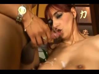BRAZILIAN CLASSIC SHEMALE PORN XXX - FIONA FUCKS GIRLS IN ASS