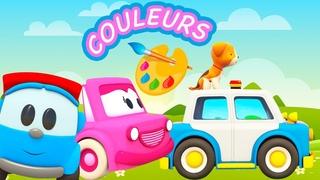Compilation 30 min : Couleurs en français avec Léo le camion et véhicules d'assistance
