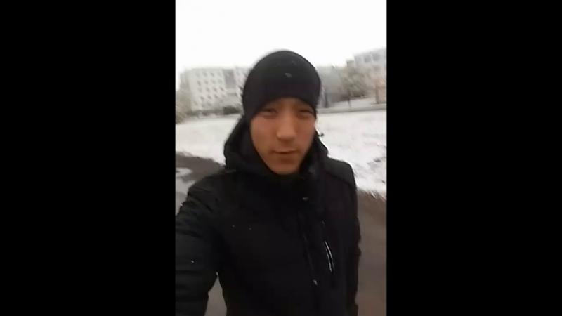в Кокшетау снег выпол