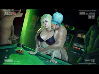 Supergirl - group sex; gangbang; doggystyle; vaginal fucked; handjob; masturbation; camera; 3D sex porno hentai; [DC Comics]