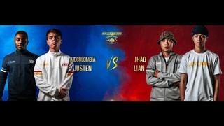 Kid Columbia & Justen vs Jhao & Lian   16-8   World War   BIS 2018