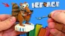 ЛЕПИМ БЕЛКУ из мультфильма ЛЕДНИКОВЫЙ ПЕРИОД - СКРАТ SCRAT Ice Age